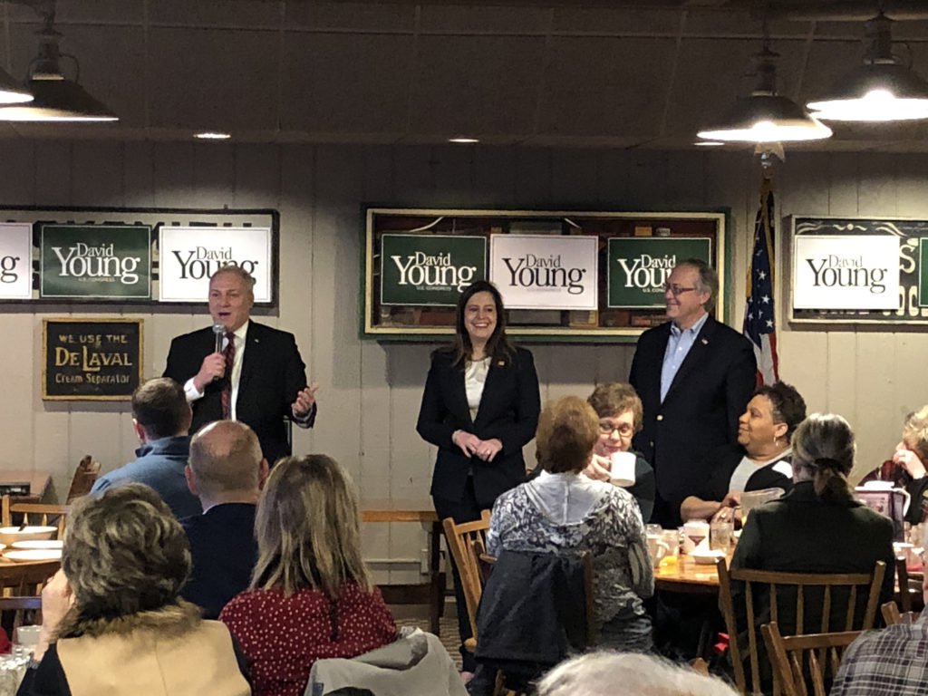 Scalise, Stefanik Stump for David Young in Iowa's 3rd ...